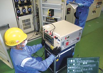 VCS(高圧電磁接触器)点検