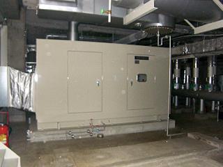 非常用発電設備更新工事